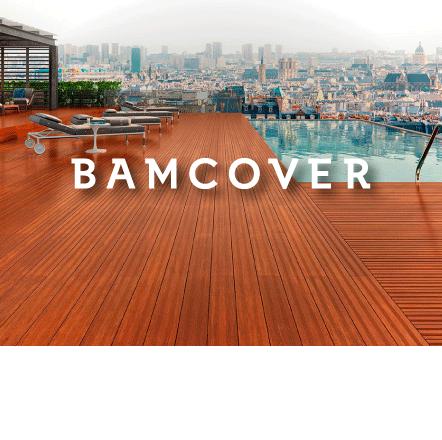 Plancher et plate-forme en bambou